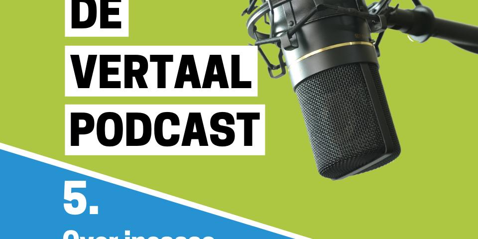 Podcastlogo aflevering incasso