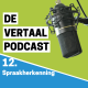 Logo podcast spraakherkenning